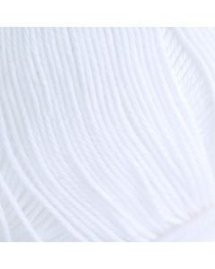8/4 Mercerised Cotton - Bleached White