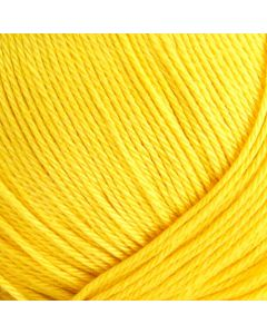8/4 Mercerised Cotton - Bright Yellow