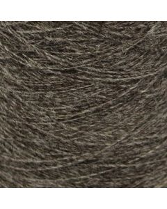 Laura's Loom Blue Faced Leicester/Black Welsh Mountain - Natural Grey