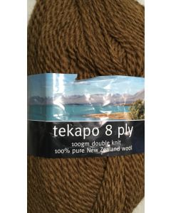 Clearance Ashford Tekapo - 8ply - Coffee - 064