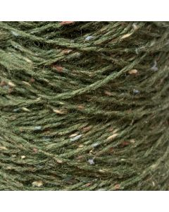New Lanark Wool Donegal Silk Tweed -  Forest