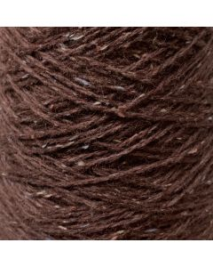 New Lanark Wool Donegal Silk Tweed - Damson