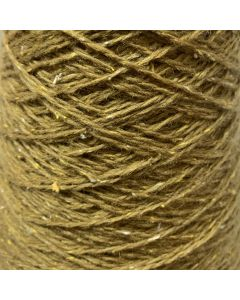 New Lanark Wool Donegal Silk Tweed - Ochre