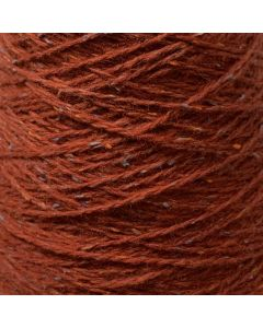 New Lanark Wool Donegal Silk Tweed - Russett