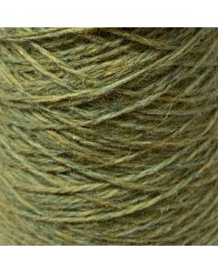 New Lanark Wool Donegal Silk Tweed - Copper Blue