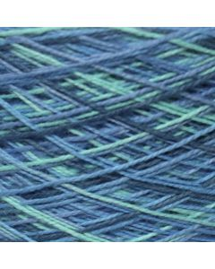 Variegated Cotton 8/2 Lake Combo