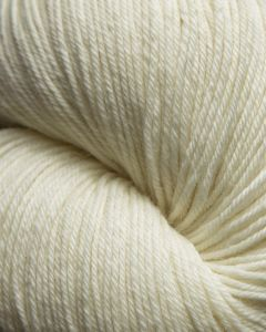 JaggerSpun Superwash Mousam Falls Sock Yarn - Ecru