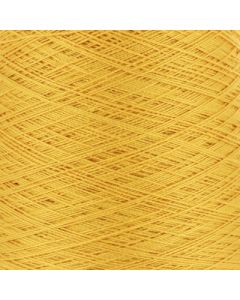 Valley Yarns Mercerised Cotton 5/2 - Daffodil - 1325 (Image courtesy of Valley Fibers)