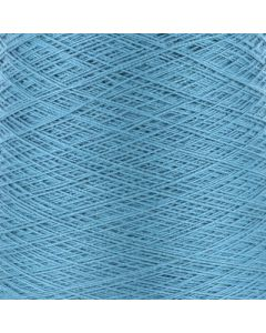Valley Yarns Mercerised Cotton 5/2 - Mediterranean Blue - 2448 (Image courtesy of Valley Fibers)