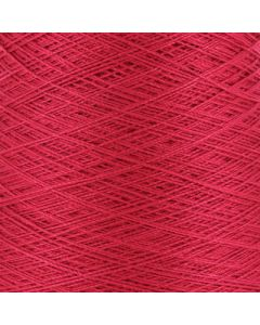 Valley Yarns Mercerised Cotton 10/2 - Red - 3611 (Image courtesy of Valley Fibers)