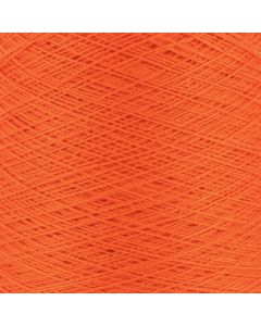 Valley Yarns Mercerised Cotton 3/2 - Orange - 4456 (Image courtesy of Valley Fibers)