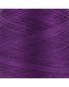 Valley Yarns Mercerised Cotton 3/2 - Eggplant - 6256 (Image courtesy of Valley Fibers)