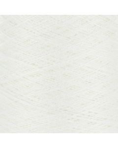 Valley Yarns Mercerised Cotton 5/2 - White - 8001 (Image courtesy of Valley Fibers)
