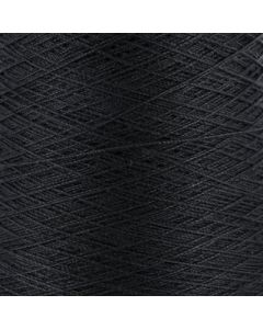 Valley Yarns Mercerised Cotton 10/2 - Black - 8990 (Image courtesy of Valley Fibers)