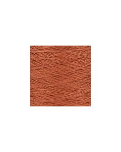 Valley Yarns Mercerised Cotton 3/2 - Burnt Sienna - 7198 (Image courtesy of Valley Fibers)