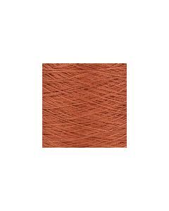 Valley Yarns Mercerised Cotton 5/2 - Burnt Sienna - 7198 (Image courtesy of Valley Fibers)