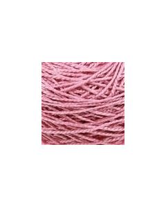 Valley Yarns Mercerised Cotton 5/2 - Melissa Pink - 3706 (Image courtesy of Valley Fibers)